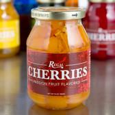 Regal 16 oz. Passion Fruit Maraschino Cherries with Stems
