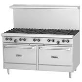 """Garland G60-10RS 10 Burner 60"""" Range with Standard Oven and Storage Base - 368,000 BTU"""