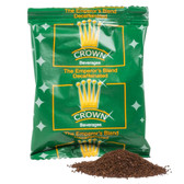 Crown Beverages Emperor's Blend Decaf Coffee 2 oz. Packet - 80/Case