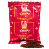 Crown Beverages Emperor's Finest Premium Blend Decaf Coffee 2 oz. Packet - 80/Case