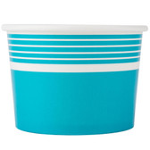 Choice 12 oz. Blue Paper Frozen Yogurt Cup - 1000/Case