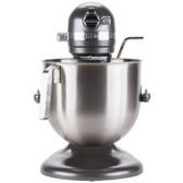 KitchenAid KSM8990DP Dark Pewter NSF 8 Qt. Bowl Lift Commercial Countertop Mixer - 120V, 1 3/10 hp
