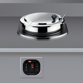 Hatco RHW-1B 11 Qt. Single Drop-In Round Heated Food Well - 120V