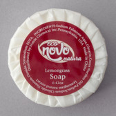 Eco Novo Natura 0.42 oz. Wrapped Round Glycerin Hotel and Motel Body Soap Disc - 1000/Case
