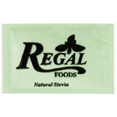 Regal Foods 1 Gram Natural Stevia Packet - 1000/Case
