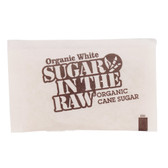 Sugar In The Raw Organic White Sugar 3.5 Gram Packet - 1000/Case