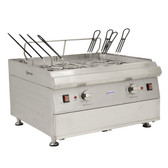 Countertop Double Tank Electric Pasta Cooker - 240V, 7200W