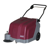 "Minuteman KS25 25"" Walk Behind Battery Operated Carpet Sweeper"