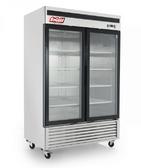 54″ 2 Door Glass Reach in Freezer