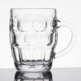 Acopa 19.25 oz. Dimple Beer Mug - 12/Case