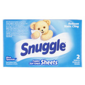 1.5 oz. Snuggle Blue Sparkle Liquid Fabric Softener Box for Coin Vending Machine - 100/Case