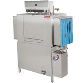 SoCold Warewashing 44 Conveyor High Temperature Dishwasher - Right to Left, 230V, 3 Phase