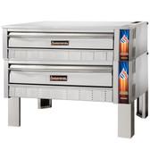"Sierra Range SRPO-60-2  60"" Double Pizza Deck Oven - 176,000 BTU"
