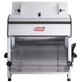 """Countertop Electric Bread Slicer - 1/2"""" Cutting Width - 110V, 1/4 hp"""
