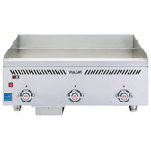 """Vulcan VCCG36-AR Natural Gas 36"""" Griddle with Atmospheric Burner and Chrome Plate -90,000 BTU"""