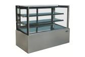 """Kool-It 72"""" Flat Glass Refrigerated Display Case - KBF-72"""