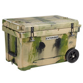 CaterGator CG45CAMOW Camouflage 45 Qt. Mobile Rotomolded Extreme Outdoor Cooler / Ice Chest