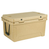 CaterGator CG65SPB Beige 65 Qt. Rotomolded Extreme Outdoor Cooler / Ice Chest