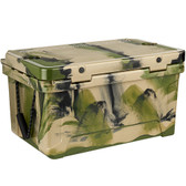 CaterGator CG65CAMO Camouflage 65 Qt. Rotomolded Extreme Outdoor Cooler / Ice Chest