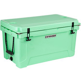 CaterGator CG65SF Seafoam 65 Qt. Rotomolded Extreme Outdoor Cooler / Ice Chest