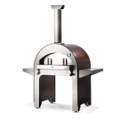Alfa 4 PIZZE Wood Fired Copper Pizza Oven with Base - FX4PIZ-LRAM