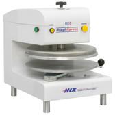 "DoughXpress DXE-WH Automatic Pizza Dough Press 18"" - White, Electromechanical"