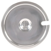 Notched Stainless Steel Cover for 2.5 Qt. Inset