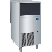 "Manitowoc UFF0200A 19 3/4"" Air Cooled Undercounter Flake Ice Machine with 60 lb. Bin - 191 lb."