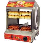 Paragon 8020 Dog Hut Hot Dog Steamer and Merchandiser - 120V, 1200W