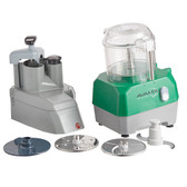 Avamix Revolution CFBB342DC Combination Food Processor with 3 Qt. Clear Bowl, Continuous Feed & 2 Discs - 1 hp