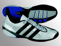 Fencing Shoe - Adidas Adistar 2004 Low