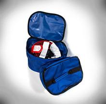 Color - BLUE  Mask bag + Kit Bag