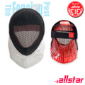 Mask Epee FIE - Allstar, Removable Lining, NEW STRAP FIE 2018
