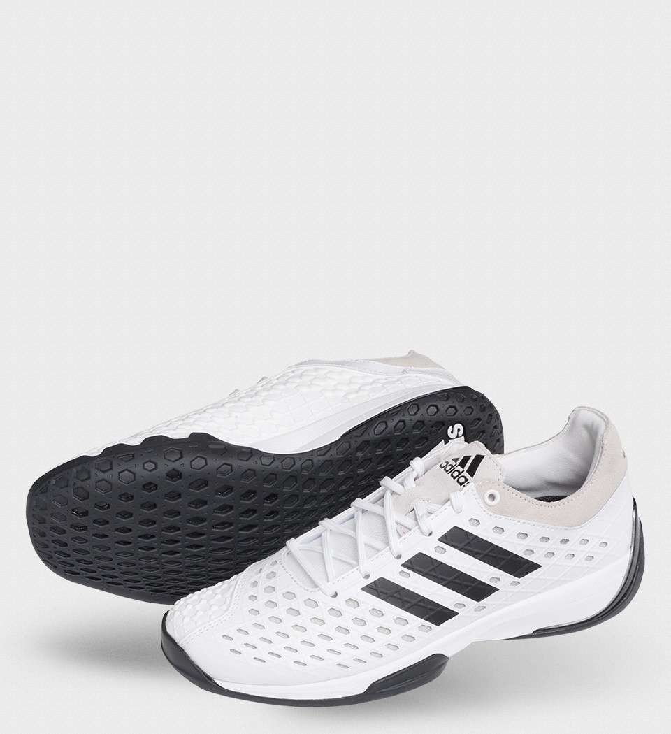 c5311f1bd6c50 Fencing Shoe - Adidas 'Fencing Pro' White with black trim