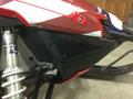 Polaris Pro ride belly pan nose vents