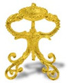 Egg Stand - Bright Gold Finish #107