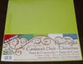 Cardstock Deck - Christmas 12 x 12