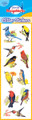 Bird Glitter Stickers