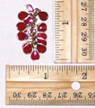 Cluster Dangle - Red