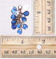 Cluster Dangle - Blue
