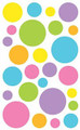Sticker Sheet - Sheer Color Dots