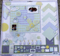 Happy Birthday Scrapbook Kit