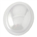 Dome - Medium Clear Plastic Oval