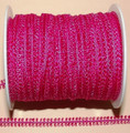 Braid - Double Loop/Fuchsia