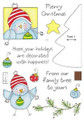 Clear Stamp Set - Ornament Birdy
