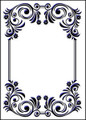 Flower Frame Embossing Folder