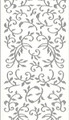 Outline Leaf Flourish - Silver