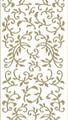 Outline Leaf Flourish - Gold