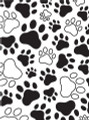 Paw Prints Embossing Folder