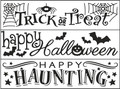 Halloween Embossing Folders - 3 Pack